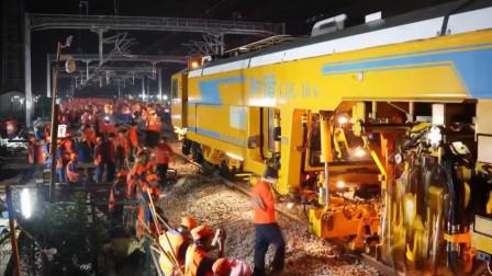 千人奋战,中国高铁建设速度无与伦比!