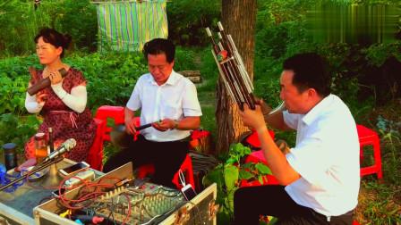 邓州市郑林老师唢呐吹奏哭调《小汉江》,高手吹奏,听着非常过瘾