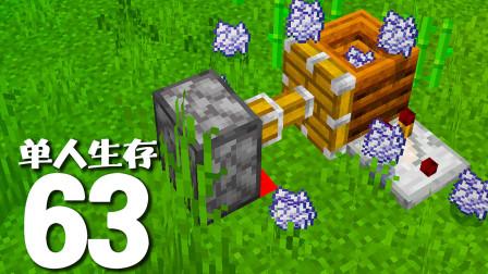 【游戏真好玩】我的世界单人生存63:堆肥桶这样用!可以让你无限刷骨粉