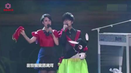 玖月奇迹换了女搭档,王小海和张蕾对唱《过河》,不输王小玮
