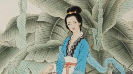 仕女画:手绘国画古风女子,风致典雅,不一样的感觉!