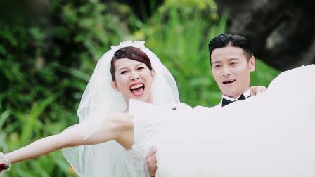 张晋蔡少芬诠释何为模范夫妻,打打闹闹恩爱如初!