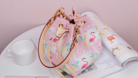 唐兔兔 时尚水桶包包手工布艺diy材料包教程