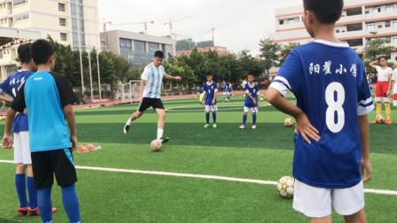足球小子的日常训练!想成为足球巨星,这是必经之路