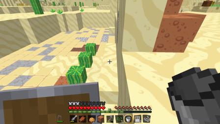 我的世界 EX的探索生存 第十二集 沙子城墙