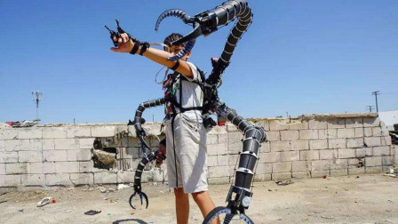 国外19岁小伙耗费300万美元,成功研制章鱼臂,如今吸引千万投资