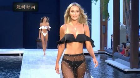 Lorenzo 迈阿密泳装周精彩走秀,朦胧的薄纱,朦胧的美感