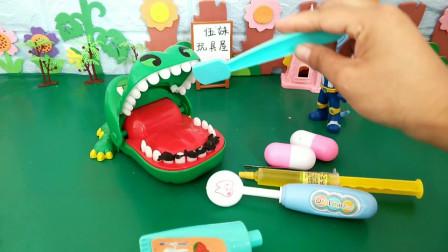 爱吃糖的大鳄鱼!牙都哭了!