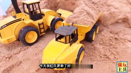 铲车和大卡车玩具,工程车玩具