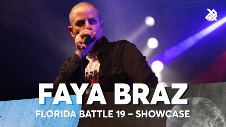 FAYA BRAZ   Florida Beatbox Battle 2019   Showcase