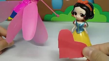 少儿益智亲子玩具:有了白雪的帮助,小仙女会飞起来吗?