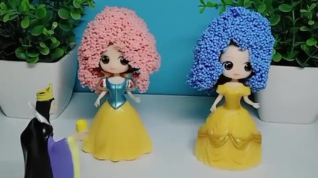 少儿益智亲子玩具:两位公主可真时尚,你们喜欢吗?
