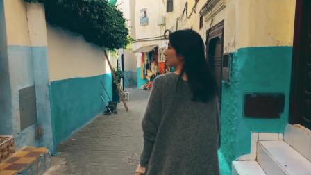 世界上最古老的蓝色调城市麦地那古城