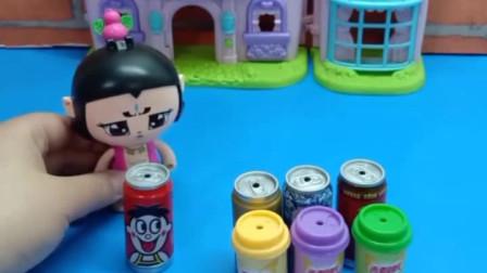 少儿益智亲子玩具:蝎子精变成爷爷喝光了饮料,这可怎么办?