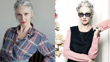 魅力和年龄无关!70岁老人穿搭有品似仙女,气质出众心态超年轻