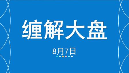 【缠中说禅】8月7日缠解大盘,缠论交易体系