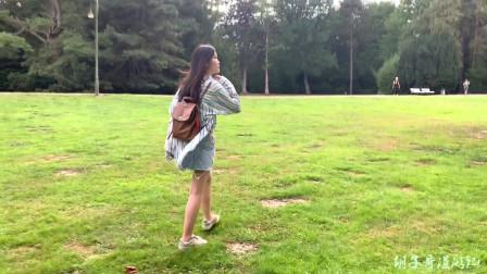 欧洲自驾游,德国不莱梅公园散步,这是鸳鸯还是鸭子呢?你知道吗