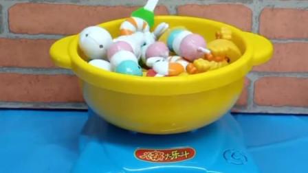 少儿益智亲子玩具:和汪汪队一起吃火锅,你们喜欢吗?