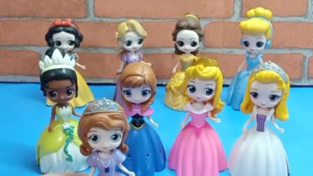 少儿益智亲子玩具:十位公主,你们喜欢哪一位呢?