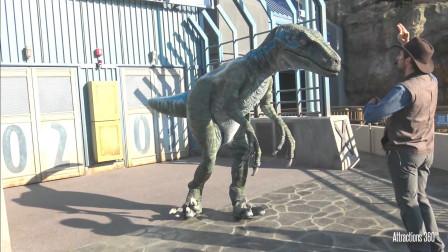 """全球第一家""""侏罗纪""""公园正式开放"""