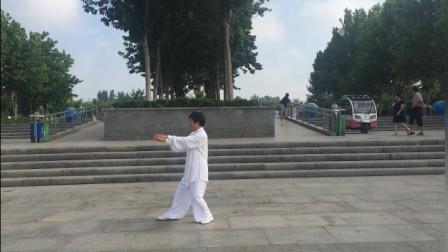 传统杨氏太极拳体用架24势