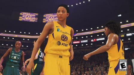 《NBA 2K20》公布WNBA宣传片,女篮正式驾到