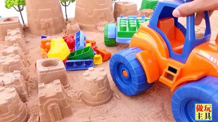小积木和模拟沙玩具,真棒