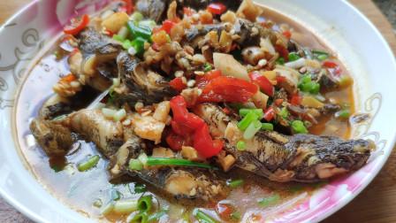 这种鱼野生的要卖80-120一斤,老妈这样烧,吃过的都说特别好吃