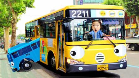 宝蓝儿童亲子萌宝乐园!乘坐巴士去仁川科学馆!
