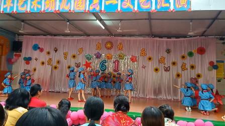 幼儿舞蹈《红星闪闪》儿童歌曲儿歌 少儿早操律动六一舞蹈 儿童舞蹈