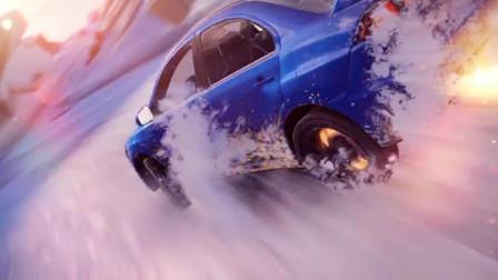《速度与激情5》在冰面急速飙车,翼神直接甩了日产GTR一条街