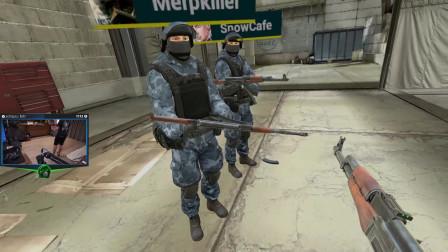 Shroud 玩 CSGO VR 爆笑甩刀误杀队友