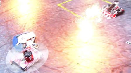 铁甲雄心2:骑士王VS漂移,暴风斩