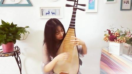 教你弹琵琶中最常用到的指法弹挑