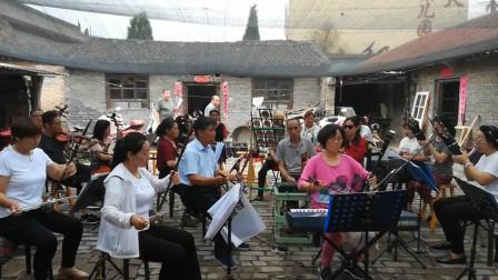 山西民间艺术团演奏晋剧曲牌,水平不比专业乐队差,好听!