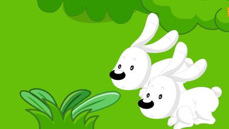 儿童故事:两个大坏蛋巫婆与狼,小白兔你们要小心!
