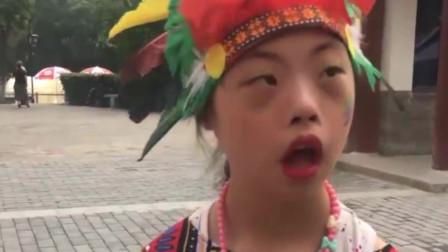 11岁唐氏女孩自学舞蹈,登台献艺占C位