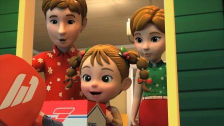 乐迪来到悉尼送快递,半夜看到遇见麻烦的圣诞老人