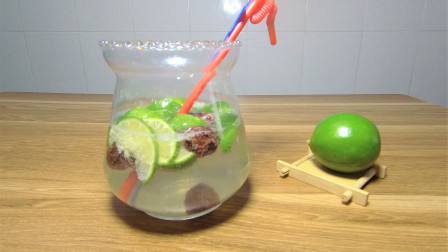 青柠话梅雪碧饮料:夏日消暑饮料,清凉美味,好心情