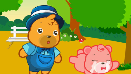 儿童故事:哇哇哇,爱哭鼻子的嘟拉又开始啦