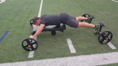 老外发明奇葩人力健身车,趴着驾驶,美军和运动员超喜欢