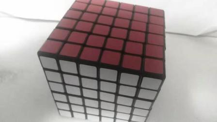 六阶魔方第三步调整最后两个侧面的中心块视频教程