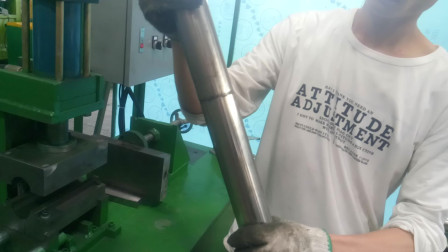 不锈钢缩管机操作说明步骤