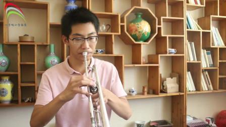 小宇的小号:赫林小号练习曲一,吹奏要领和注意问题,小哥哥讲得很细,你学会了吗