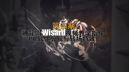 英雄联盟神龍哥Wisard视频教学指导第四期PR软件剪辑与转场特效