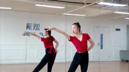 《赤伶》舞蹈慢动作分解教程