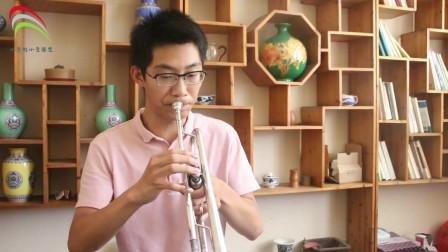 小宇的小号:赫林小号练习曲二,应注意的问题和要领,小哥哥吹的不错,你学会了吗