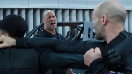 《速度与激情之特别行动》强森杰森打黑衣人这个片段没谁了笑坏了在场观众