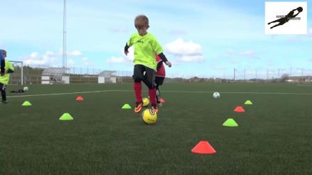 国外U青少年足球技巧训练教学视频37集