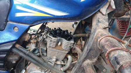 水冷发动机200的缸筒活塞环该怎么更换呢?师傅教你简单修理